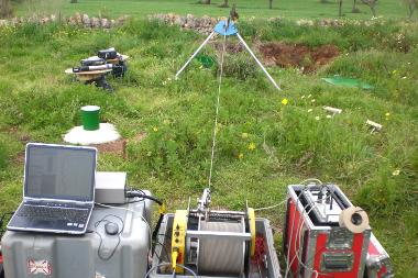 Hydrogéophysique en forage